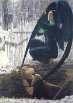Carlos Schwabe Death and the Gravedigger 1890s wiki small